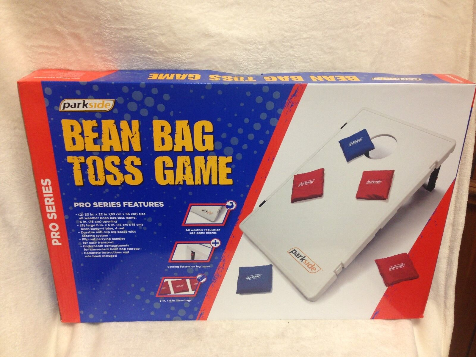 Terrific Parkside Pro Series Bean Bag Toss Game Onthecornerstone Fun Painted Chair Ideas Images Onthecornerstoneorg