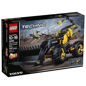 Chargeuse sur pneus Volvo Concept Lego Technic 42081 Zeux - New Sealed Intl