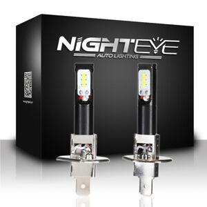 2pcs-H1-LED-Phare-800LM-6500K-Ampoules-Voiture-Lumiere-Antibrouillard-Blanc