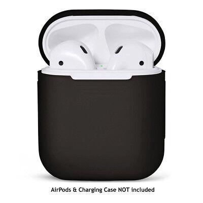 Para Airpods Funda de Silicona Protección Piel Apple Cargador