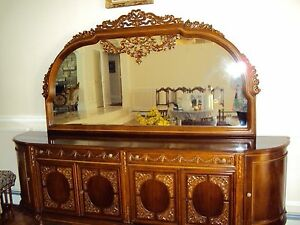 Image Is Loading Hand Crafted Antique Dining Room Buffet From Turkey