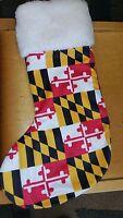 Maryland Flag Christmas Stocking
