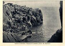 "Vita da bagno a Bornholm la ""vasca da bagno"" in caso di Gudhjem 1907"