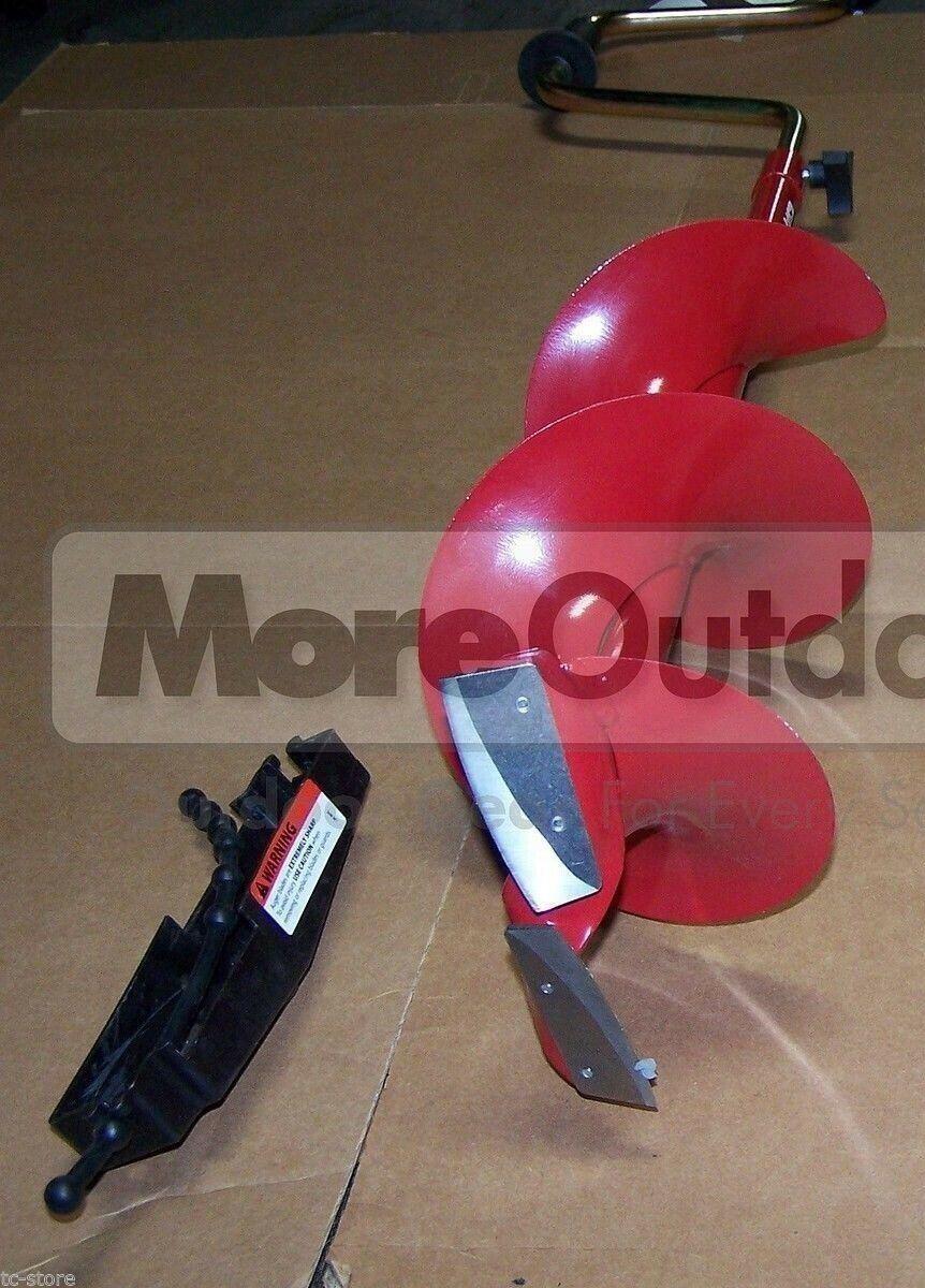 HD08  Eskimo Adjustable Length  8  Standard Polar Hand Ice Auger SALES MODEL  save 35% - 70% off