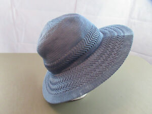 Details about Collection XIIX Women's Color Expansion Panama Hat, Chambray  Blue, One Size