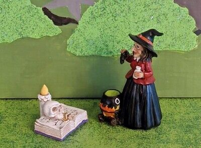 """Witch Spell NEW Rare Retired Dept 56 Halloween /""""No Spell Unlearned/"""" #6003166"""