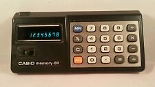 Casio Memory-8R Vintage Calculator Made in Japan