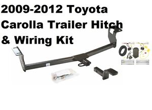 TRAILER RECEIVER TOW HITCH W/ WIRING HARNESS KIT FITS 09-13 TOYOTA on toyota corolla generator, toyota corolla gasket, toyota corolla tune up kit, toyota corolla lights, toyota corolla cylinder head, toyota corolla front end, toyota corolla transaxle, toyota corolla sway bar, toyota corolla instrument cluster, ford f100 wiring harness, pontiac grand am wiring harness, toyota corolla fuel pump assembly, toyota corolla door hinge, datsun 510 wiring harness, toyota corolla taillights, automotive wiring harness, toyota corolla steering damper, ford e350 wiring harness, toyota corolla ecm, car wiring harness,