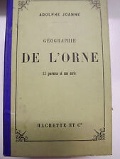 GUIDE JOANNE HACHETTE  orne 13 GRAVURES    + carte couleurs 1883