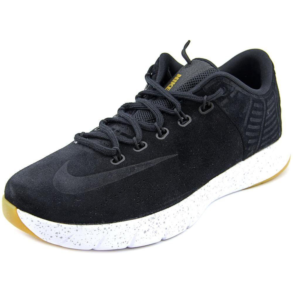 Nike Men's Lunar Hyperrev Low EXT Basketball shoes Black Metallic Grey Size 9.5M