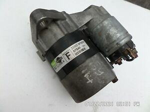 Nissan Primera 1.8 STARTER MOTOR 233009F66B QG18DE Petrol 16 Valves 115BHP