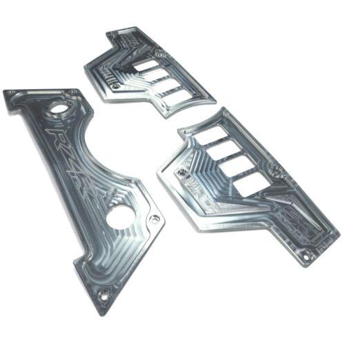 Billet Aluminum Dash Panel Kit Raw Machined Finish for Polaris RZR XP1000 UTV