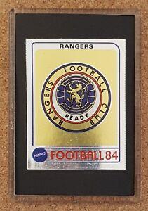 Details about Panini 84 1984 Football Shiny Foil Badge Sticker Fridge  Magnet - Various Teams