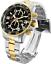 Invicta-Men-039-s-45mm-PILOT-Tachymeter-Specialty-Chrono-Black-Dial-Gold-TT-SS-Watch thumbnail 1