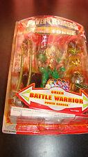 Power Rangers Time Force Green Battle Warrior Ranger