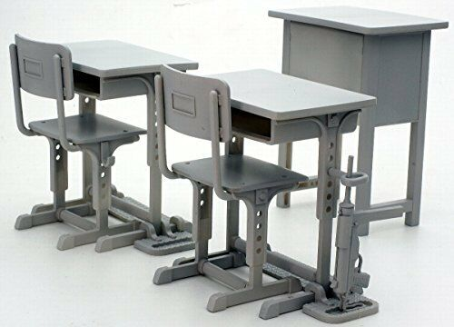 1 12 Little Armory (LD011) Designated Defense School's Desk Grease G From japan