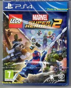 LEGO-MARVEL-SUPER-HEROES-2-034-NUOVO-amp-Sealed-039-PS4-quattro