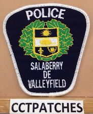 SALABERRY DE VALLEYFIELD, CANADA POLICE SHOULDER PATCH