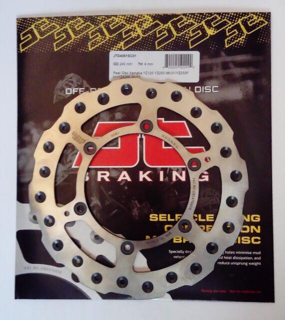 Yamaha YZ400F (1999) JT Brakes Self Cleaning 240mm REAR Wavy Brake Disc