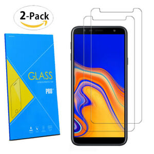 For-Samsung-Galaxy-J4-Plus-2018-6-0-034-2-Pack-Tempered-Glasses-Screen-Protector