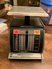 Vtg Pelouze Postal Scale 1 Lb 12 Oz Increments Model X 1