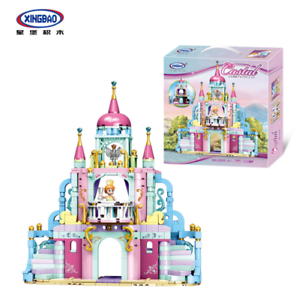 Xingbao-Bausteine-Baukaesten-Maedchen-Schloss-Modell-Spielzeug-Toys-Anime-540PCS