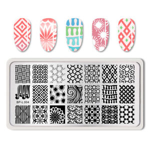 BORN-PRETTY-Nail-Art-Stamp-Image-Stamping-Plates-Template-BP-L004