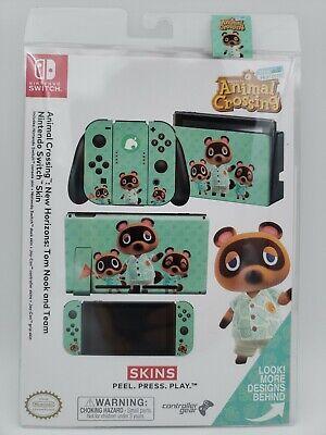 Animal Crossing New Horizons Tom Nook Team Nintendo Switch Skin Bundle New 810032803247 Ebay