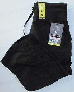 Ladies Active Capri Stretch Pants Bottom Gym By Kirkland Black Blue S M L New