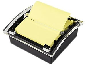 Post-it Pop-up Notes DS330-BK Clear Top Pop-up Note Dispenser for 3 x 3 Self-Sti