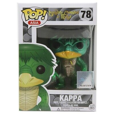 Funko Asia Legendary Creatures /& Myths Kappa Metallic Convention