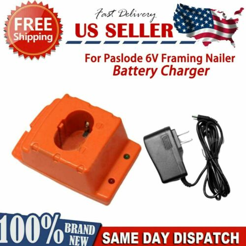 Details about  /Battery Charger for Paslode 6V Framing Nailer gun 404717 6V BATTERY US STOCK