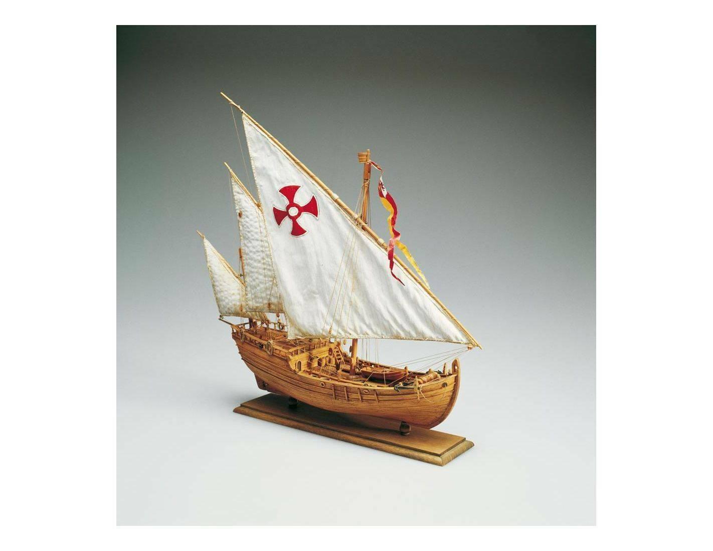 Amati 1411 Cocheavella Nina 1492 Cristoforo Colombo Kit legno 1 65 Modellino