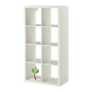 Ikea Kallax Regal Raumteiler Bücherregal In Weiß 77 X 147 Cm Sofort