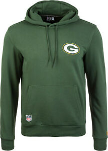 Green-Bay-Packers-HOODIE-NFL-FOOTBALL-NEW-ERA-TEAM-HOODY-dimensioni-MEDIUM-TOP