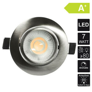 Spot Plafonnier Ultra Plat 7W Intensité Variable Encastré Lampe Encastrable LED