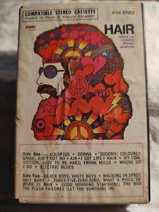Hair / 1960s Original London Cast Recording Cassette ATM 57002 Ampex Cover...