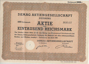 Mannesmann Aktie