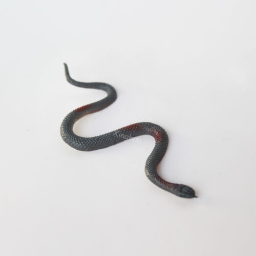 "1//6 Scale Grey Red Snake Mini Model For 12/""in Action Figure Animal Accessory"