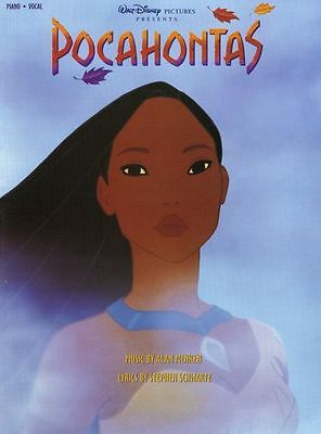 Disney Pocahontas Vocal Selections Learn to Play Piano Vocal & Guitar Music Book