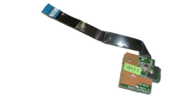 HP Pavilion dv7-3000 dv7-2000 Power Button Board with Cable DAUT3APB6C1