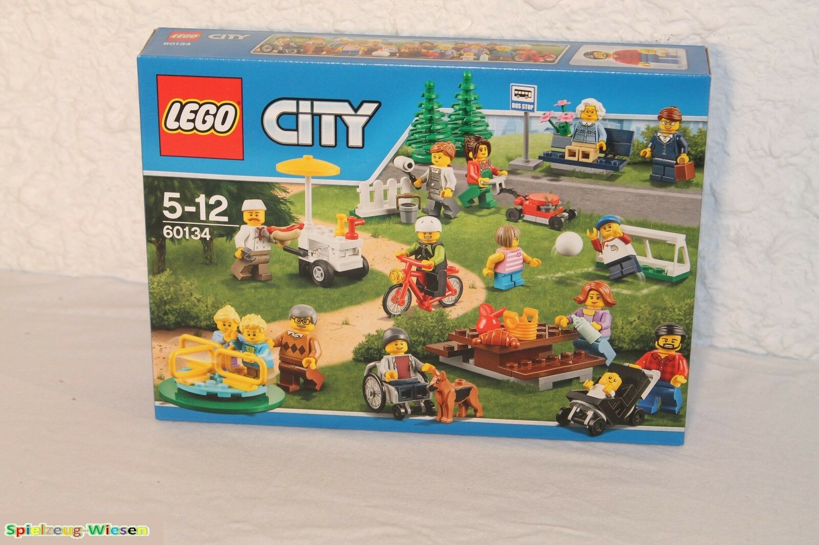 LEGO® CITY 60134 City Stadtbewohner - NEU & OVP -