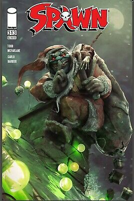 SPAWN #313 BARENDS COVER  A IMAGE COMICS AL SIMMONS NM Pre-sale 12//23 2020
