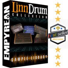 LINN Drum Machine WAV Samples Electronic Kits Sounds Library FREE SHIPPING