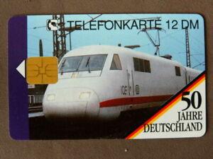 O-304-10-92-MINT-Ongebruikt-Duitsland-50-Jahre-Deutschland-TRAIN-opl-15000