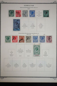 Gibraltar-Early-Stamp-Collection