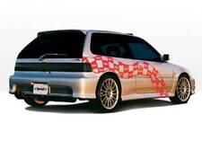 Racing Series Side Skirts For 1988 1991 Honda Civic Hb 890178r 890178l Pair