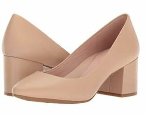 e523b24564 Image is loading New-Womens-TARYN-ROSE-Rochelle-Sand-Leather-Pumps-