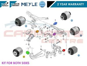 FOR-VW-PASSAT-GOLF-MK5-EOS-JETTA-REAR-LOWER-SUSPENSION-UPPER-TRAILING-ARM-BUSHES