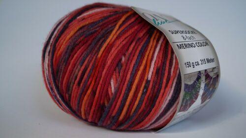 ONline Supersocke 8fach Merino Color